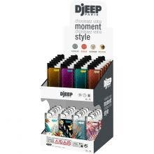 Briquet DJEEP® - Display 2 étages Honey & Jungle - display de 48