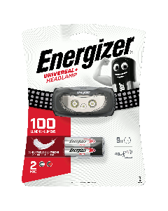 ENERGIZER Torche 3 LED Headlight +3AAA incluses